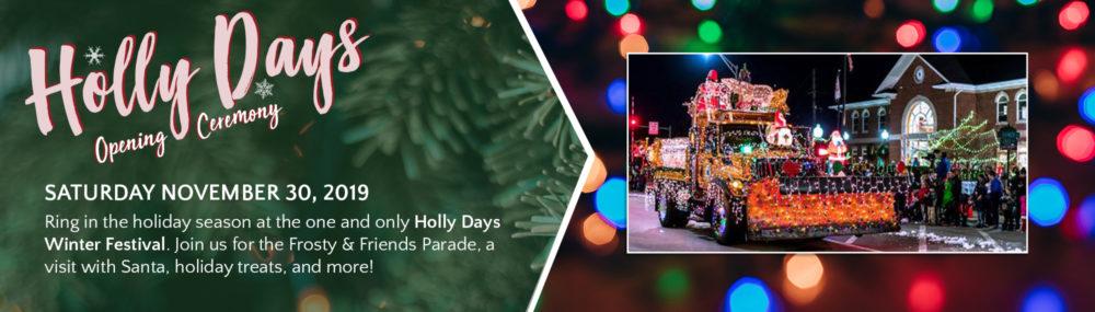 Holly Days Parade
